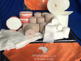 Full leg lymphoedema bandaging kit