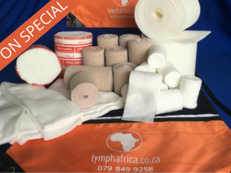 Full lymphoedema bandaging kit
